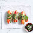 Rice paper rolls (cold)