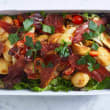 Roasted potato & prosciutto salad (DF)