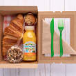 Vegan breakfast box (pp)