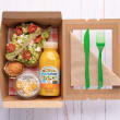 Dairy free breakfast box (pp)