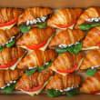 Vegetarian croissant selection (16 pcs)