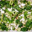 Green vegetable, feta & pine nut salad (6-8 pax)