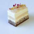 Mini Rose & Lychee cakes (H) (15 pcs)