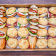 Choose your sandwiches (box of 15)