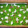 Peas & Goats Cheese Salad