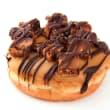 Salted caramel & chocolate doughnut