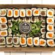 Uramaki sushi platter