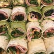 Assorted breakfast wraps