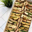 Assorted breakfast bagels
