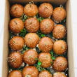 Assorted brioche sliders - warm