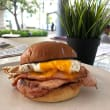 Tradie bacon & egg roll