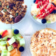 Assorted yoghurt cups (180ml) (12)