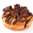 Salted caramel & chocolate doughnut
