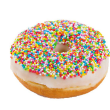 Fairy bread doughnut