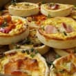 Assorted regular quiche box (16) (48hrs notice)
