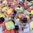 Fruit salad cup