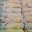 Rice paper rolls platter