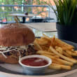 Carolina style pork roll
