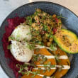 Avocado & chickpea buddha bowl