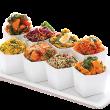 Roast vegetables salad