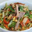 Shredded Roasted Duck and Mango Salad