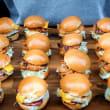 Assorted mini burger box