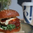 Gourmet burgers & salad
