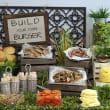 Build your own burger bar (pp)