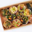Individual baby salad pots (10 pots)