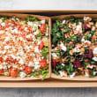 Vegetarian salad duo box (12-15 pax)
