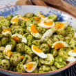 Herby potato & egg salad