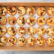 Savoury tart box (24 pcs)