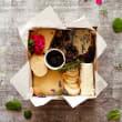 Individual 'happy hour cheese treat'