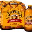 6 pack Bundaberg Ginger Beer Bot-375ml
