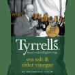 Tyrrell's Potato Crisps - Sea Salt & Cider Vinegar (9 x 165g)