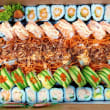 All Cooked Sushi Platter (56 pcs)