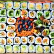 Vegetarian Sushi Platter (DF) (60 pcs)