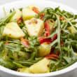 Chilli pineapple, capsicum salad