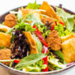 Middle eastern salad with falafel (10-15 pax) (NF) (H)