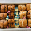 Hot cross buns box (12 pcs)