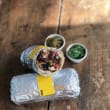 Sautéed Vegetable & Guacamole Burrito