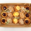 Assorted mini Danish pastries