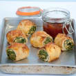 Spinach & ricotta roll