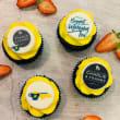 Logo cupcakes (4 days notice)