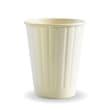 DSDRDW08 CUP PAPER DOUBLE WALL 227ML 8OZ WHITE BIOPAK (CT1000)