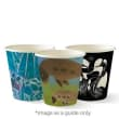 CUP PAPER SINGLE WALL 4OZ ART SERIES BIOCUP (CT1000)