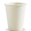 DSDRBC8W CUP PAPER SINGLE WALL 227ML 8OZ WHITE BIOPAK (CT1000)