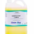 CHDL05 DISINFECTANT LEMON 5L CLEAN PLUS