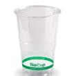 DSDRDC28 CUP PLASTIC CLEAR 280ML CERTIFIED BIOPAK (CT2000)