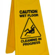JNSW11 WET FLOOR SIGN YELLOW A-FRAME 300X620MM EDCO
